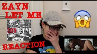 Download Lagu REACTING TO ZAYN'S 'LET ME' Gratis STAFABAND
