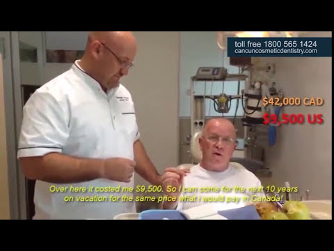 Gary tries his Snap in Dentures - Review with Doctor German Arzate
