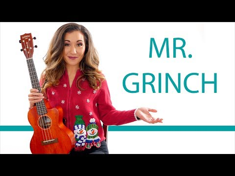 You're A Mean One Mr. Grinch Ukulele Tutorial With Play Along