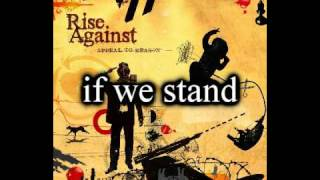 Watch Rise Against Long Forgotten Sons video