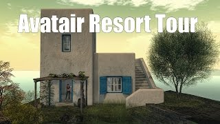 Avatair Resort Tour in Second Life