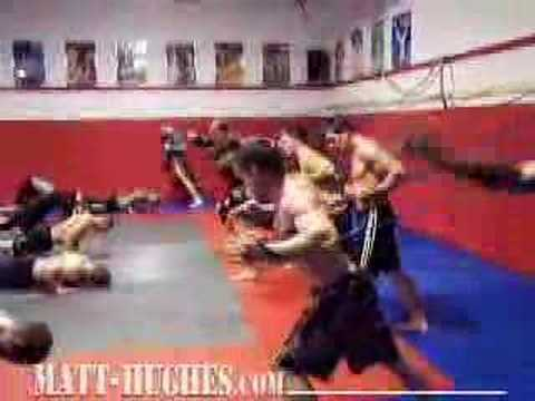 Matt-Hughes.com: Matt trains for Royce Gracie part 4 Image 1