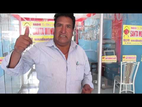 PASCUAL FARFAN FLOWER DE RADIO SANTA MONICA ANTA SALUDA A FULL RITMO