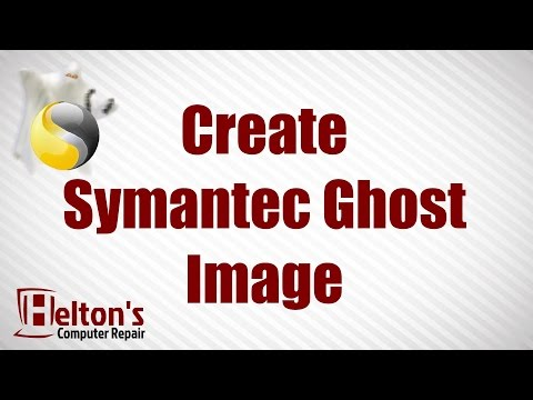 How to Create Symantec Ghost Image