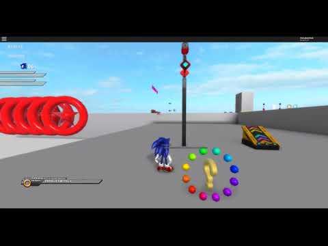 Roblox Sonic Unleashed - v0.8.0 Update Progress