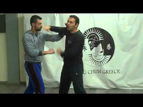 Wing Chun Greece - After lesson discussion (techn analysis)