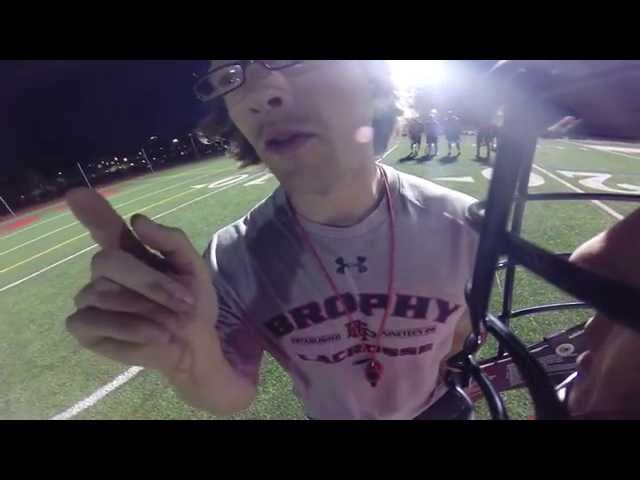 Brophy Lacrosse Advice with Coach Widbin