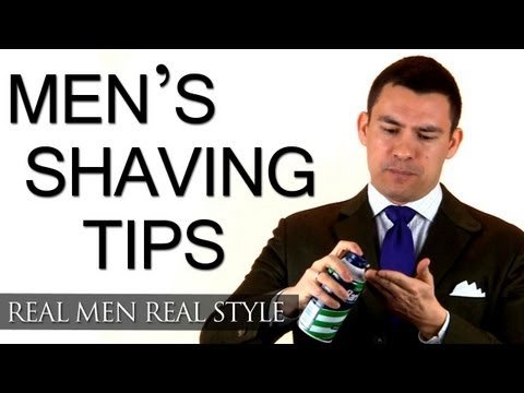 Men's Grooming Tip - One Shaving Change That Will Improve Your Daily Shave - Male Grooming Tips