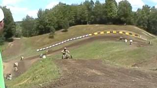 Creamer and Natalie Unadilla Sky Shot 2010 atv nationals