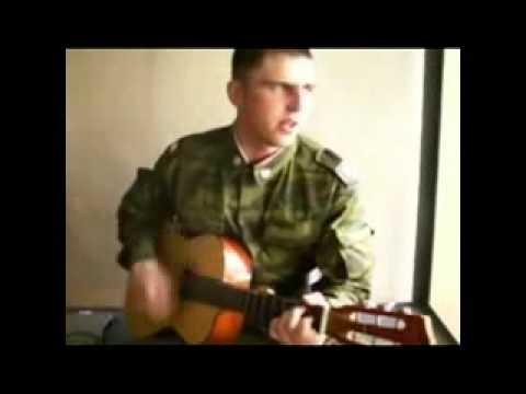 Военные, армейские песни - В военкомате случай был