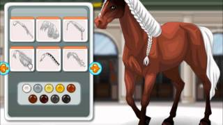 Barbie´s Horse -  make Up Celebrity Games for sweet girls - mary