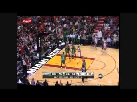 Dwade 46pt Highlights vs Celtics