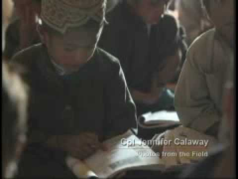 Photos From The Field: Marines Provide Security For Afghan Children