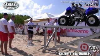Marcin Kukaj Sendwicki na Otwartych Plażowych Mistrzostwach Strongman