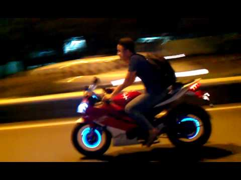 R15 V2 Modified With Projector Lights R15 v2 jazzed - YouTub...