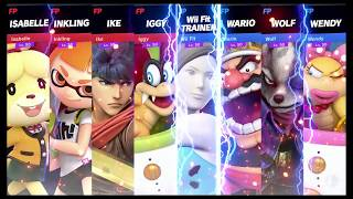 Super Smash Bros Ultimate Amiibo Fights   Request #4110 I vs W