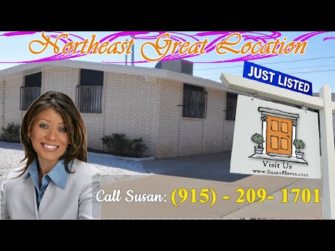 Homes for Sale in Northeast El Paso TX- Great Location and Great Price