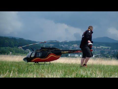 Swiss Heli Challenge 2015 Giant Bell 206 Jet Ranger Turbine Model R/C Helicopter H.Fischer