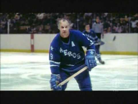 Now with the Houston Aeros, see a couple of Gordie Howe's hits, followed by son Mark talking about Gordie's protection of his players.