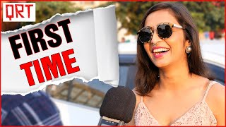 Girls On Their FIRST TIME | Personal Questions | What Do Girls Want ? | Best Dating Tips | QRT