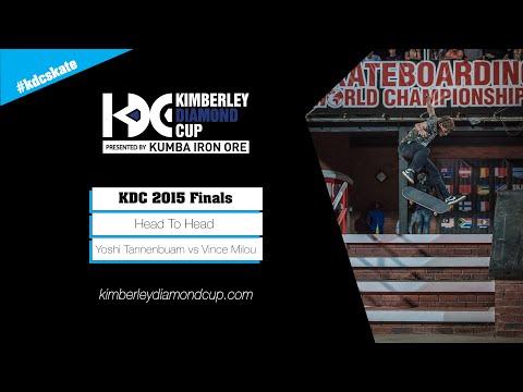 KDC 2015 Street Finals: Yoshi Tannenbaum vs Vincent Milou