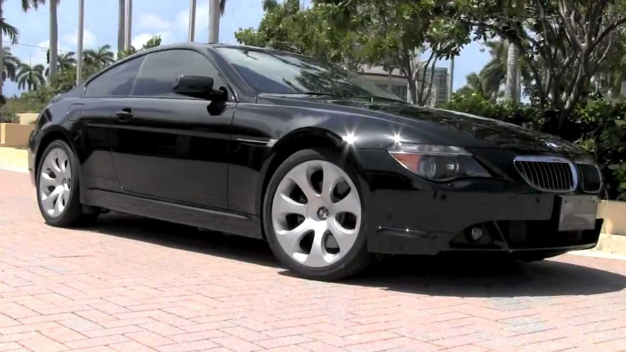 2006 BMW 650i Coupe Black Sapphire Metallic Video Review ...