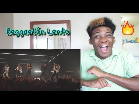 CNCO - Reggaetón Lento | Vevo LIFT Live Sessions (Live) REACTION