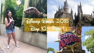 Universal Orlando Vlogs 2015 | Day 10 Part 1