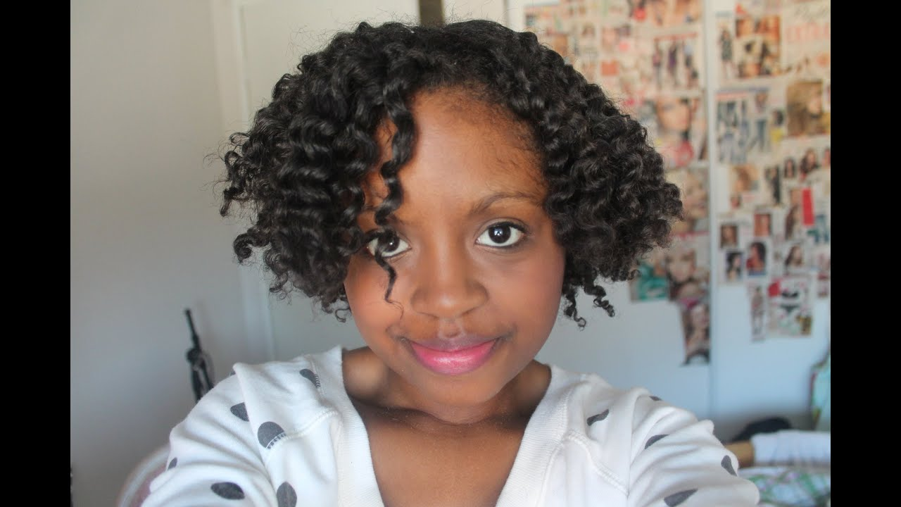 Twist Out On Blow Dried Hair Youtube