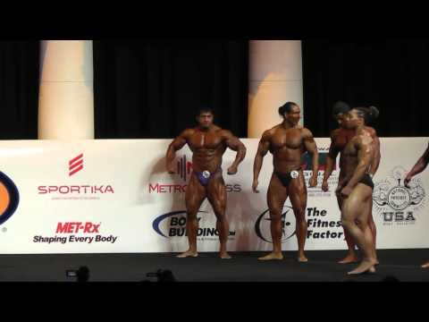 Outstanding Men's Middleweight Bodybuilders! Arnold Amateur 85 kgs (187 lbs) 3/1/13
