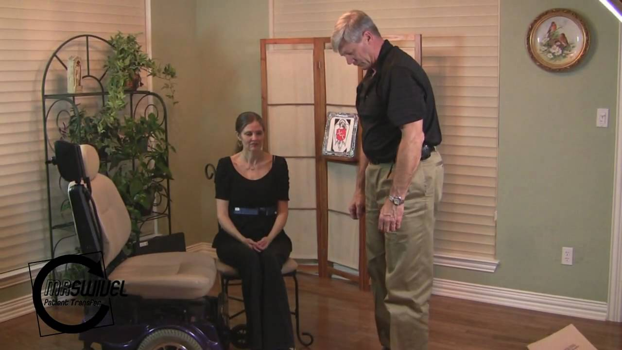 Squat Pivot Transfer For Move Patients From Wheel Chair To