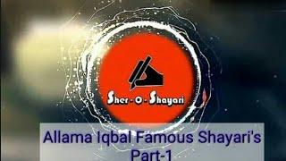 Allama Iqbal 2 Lines Best Shayari'S (Must Watch)