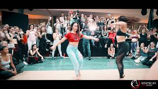 Lady style  salsa shines  / Karel Flores and Sara Panero workshop  / el sol salsa congress 2018