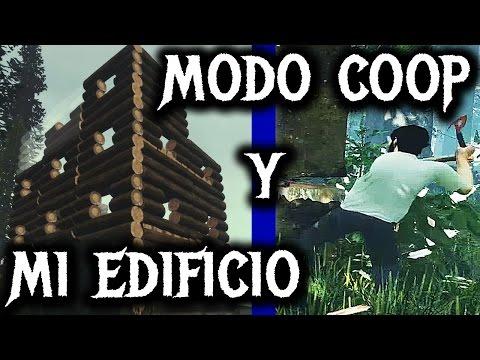 Actualización THE FOREST 0.09 #33 - Modo coop y mi propio edificio