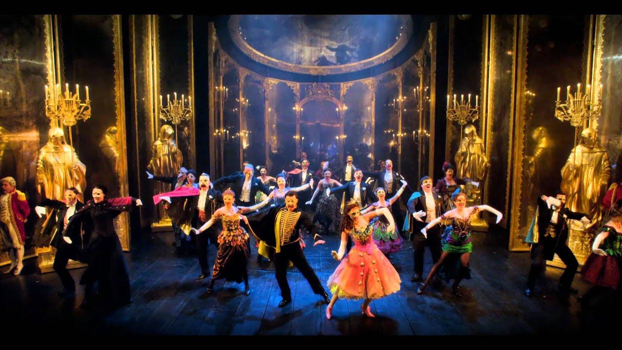 The Phantom Of The Opera Uk Tour 2012 Promo Youtube