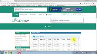 Cleanbux (PTC) - заработок рефералов без автопродления