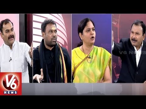 Special Debate Panchayat Elections & Federal Front | Good Morning Telangana | V6 News