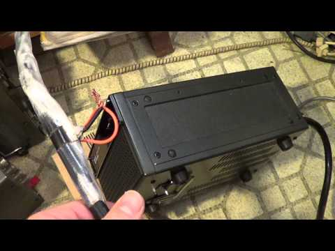 Icom PS20 Power Supply turn on wiring Ham radio video 2