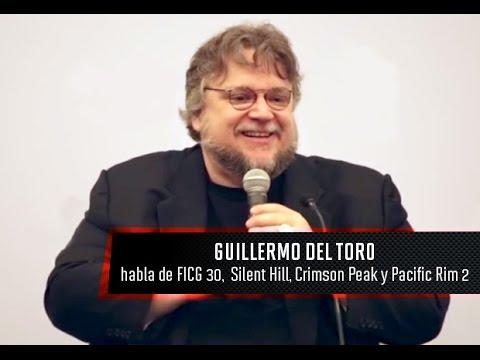 FICG 30 - Guillermo del Toro en conferencia (Pacific Rim 2, Crimson Peak y más)