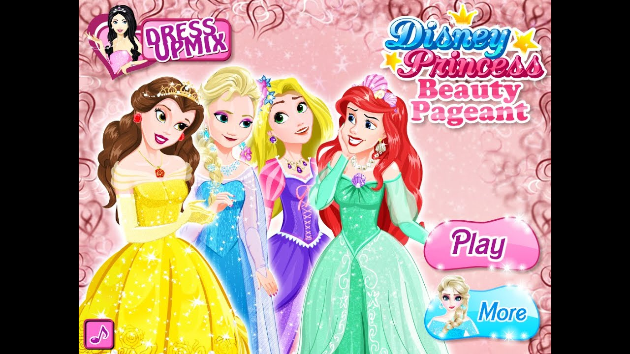 Disney Fashion Games Princess Disney Princess Beauty