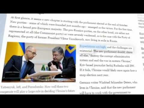 Ukraine Today Press Review: Latest developments in Europe over east Ukraine conflict