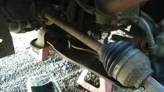 How to replace a driveshaft. (Front wheel drive cars)