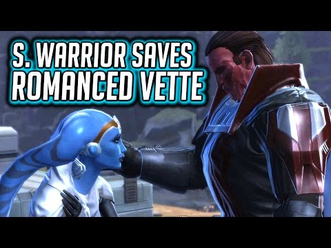 SWTOR KOTET ► Romanced Vette Saved by her Lover, the Sith Warrior - Chapter 8