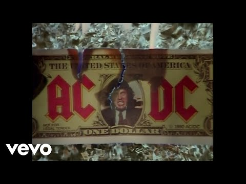Ac dc - Moneytalks video
