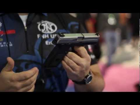2012 Shot Show - FNH USA FNS Semi-Automatic Pistol