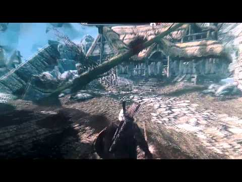Skyrim Uber Moded Save / Testing Hall Xbox 360 !