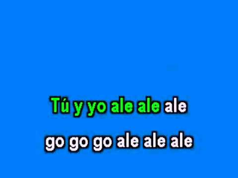 Ricky Martin The Cup Of Life Karaoke + Voice.avi video