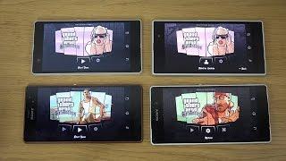 GTA San Andreas Sony Xperia Z3 vs. Xperia Z2 vs. Xperia Z1 vs. Xperia Z Gameplay Review