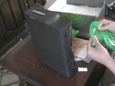 Unboxing My Xbox 360 Elite Video