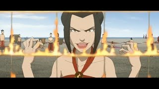 Azula, Mai, Zuko & Ty Lee: Beachball Scene [HD]